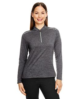Ladies Kinetic Performance Quarter-Zip-Ash City - Core 365