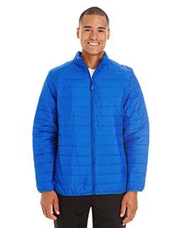 Mens Prevail Packable Puffer Jacket-Ash City - Core 365