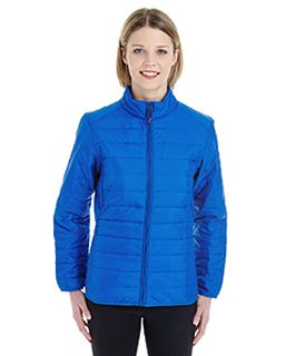 Ladies Prevail Packable Puffer Jacket-Ash City - Core 365