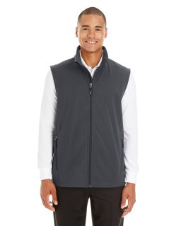 Mens Cruise Two-Layer Fleece Bonded Soft Shell Vest