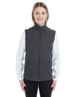 Ladies Cruise Two-Layer Fleece Bonded Soft Shell Vest
