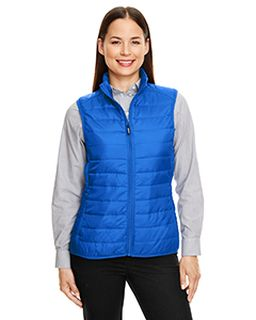 Ladies Prevail Packable Puffer Vest-Ash City - Core 365