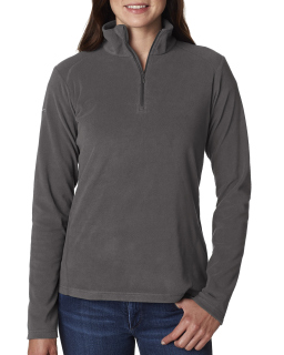Ladies Crescent Valley™ Quarter-Zip Fleece