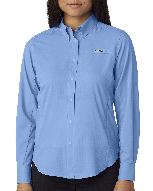 Ladies Tamiami™ Ii Long-Sleeve Shirt Fenta-