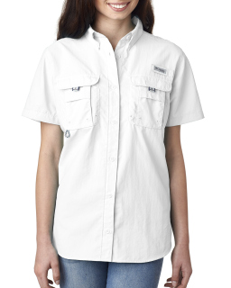 Ladies Bahama™ Short-Sleeve Shirt-Columbia
