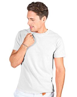 Adult 4.8 Oz. Cotton Short-Sleeve T-Shirt-Cotton Cloud