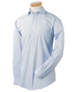 Mens Executive Performance Broadcloth With Spread Collar-Chestnut Hill