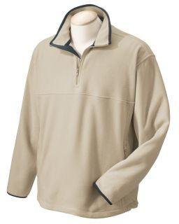 Microfleece Quarter-Zip Pullover-Chestnut Hill