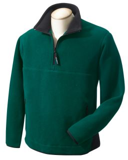 Polartec® Colorblock Quarter-Zip Fleece Jacket-