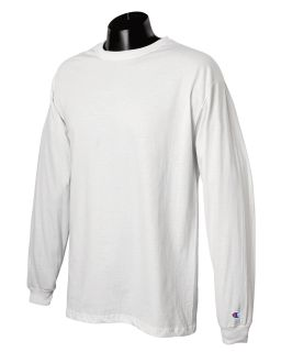 Adult 5.2 Oz. Long-Sleeve T-Shirt-Champion