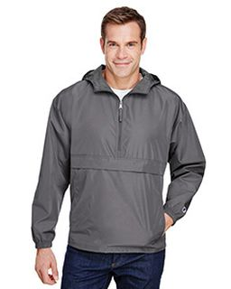 Adult Packable Anorak 1/4 Zip Jacket-