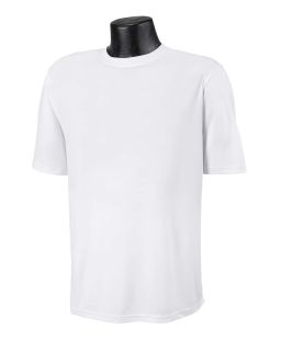Adult 4.1 Oz. Double Dry® Interlock T-Shirt-