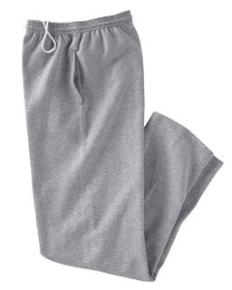Adult 9 Oz. Double Dry Eco® Open-Bottom Fleece Pant With Pockets-Champion