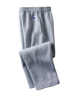 Youth Double Dry Eco® Open-Bottom Fleece Pant-Champion