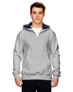 Cotton Max 9.7 Oz. Quarter-Zip Hood-Champion