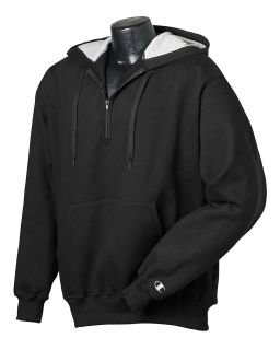 Cotton Max 9.7 Oz. Quarter-Zip Hood-