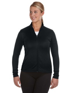 Ladies 5.4 Oz. Performance Fleece Full-Zip Jacket-Champion