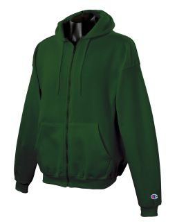 Adult 9 Oz. Double Dry Eco® Full-Zip Hood-Champion