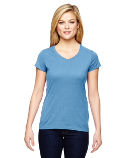 Ladies Vapor® Cotton Short-Sleeve V-Neck T-Shirt-