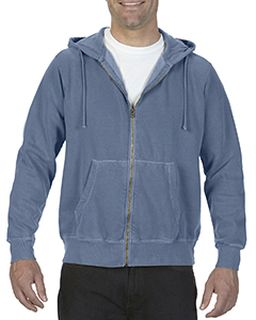 Adult Full-Zip Hooded Sweatshirt-Comfort Colors