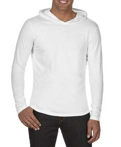 Adult Heavyweight Rs Long-Sleeve Hooded T-Shirt-Comfort Colors