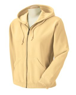 Ladies Full-Zip Hooded Sweatshirt-Comfort Colors