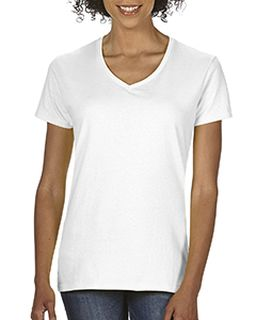 Ladies Midweight Rs V-Neck T-Shirt-