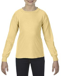 Youth Garment-Dyed Long-Sleeve T-Shirt-