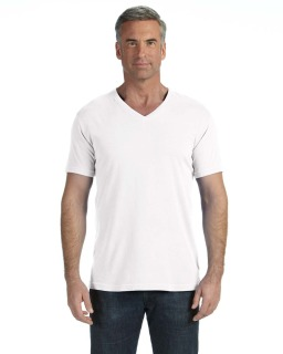 Adult Midweight Rs V-Neck T-Shirt-