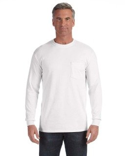 Adult 6.1 Oz. Long-Sleeve Pocket T-Shirt