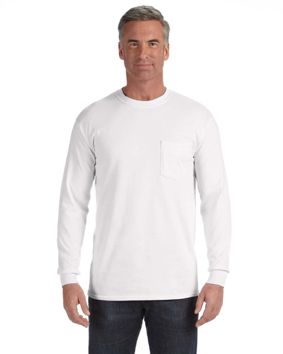 76e979fa Adult Heavyweight Rs long-Sleeve Pocket T-Shirt. Combination In Stock.  $17.62. Comfort Colors. C4410