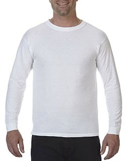 5.5 Oz. Ringspun Garment-Dyed Long-Sleeve T-Shirt-