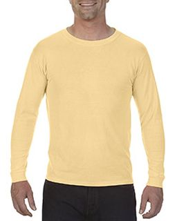 5.5 Oz. Ringspun Garment-Dyed Long-Sleeve T-Shirt-Comfort Colors