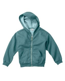Youth 10 Oz. Garment-Dyed Full-Zip Hooded Sweatshirt-Comfort Colors
