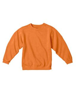 Youth 10 Oz. Garment-Dyed Crew Sweatshirt-