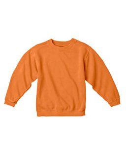 Youth 10 Oz. Garment-Dyed Crew Sweatshirt-Comfort Colors