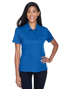 Ladies Origin Performance Pique Polo With Pocket-Core 365