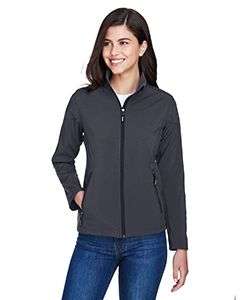 Ladies Cruise Two-Layer Fleece Bonded Soft shell Jacket-Core 365