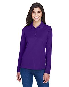 Ladies Pinnacle Performance Long-Sleeve Pique Polo-Core 365