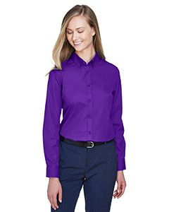 Ladies Operate Long-Sleeve Twill Shirt-Core 365