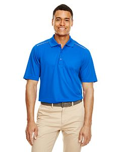 Mens Radiant Performance Pique Polo With reflective Piping-
