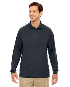 Mens Tall Pinnacle Performance Long-Sleeve Pique Polo-