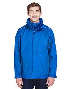 Mens Region 3-In-1 Jacket With Fleece Liner-