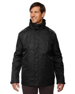 Mens Tall Region 3-In-1 Jacket With Fleece liner-