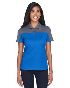 Ladies Balance Colorblock Performance Pique Polo-Core 365