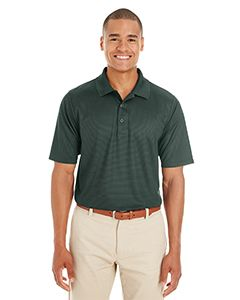 Mens Express Microstripe Performance Pique Polo-
