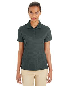 Ladies Express Microstripe Performance Pique Polo-Core 365