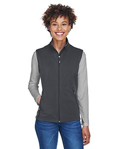 Ladies Cruise Two-Layer Fleece Bonded Soft shell Vest-Core 365