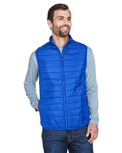 Mens Prevail Packable Puffer Vest-