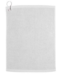 Large Rally Towel With Grommet And Hook-Carmel Towel Company